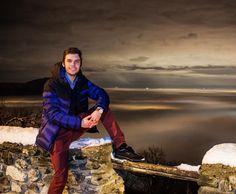 #sacradisanmichele #piemonte #igersitalia #igerspiemonte #night #notte #landscape #paesaggio #clouds #nuvole #nebbia #fog #nightcolors #longexposure #neve #snow #city #canon #blue #bordeaux