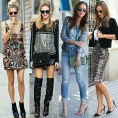 Brilhem bastante neste final de semana com esses looks de paetês! Por que brilhar sempre faz bem!   Shine a lot during this weekend with these sequins's looks ! Because shining is always good!  #moda #estilo #fashion #style #love #instafashion #estilo #love #sequinlooks #paetês