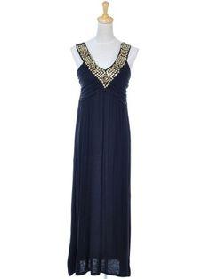 Anna-Kaci S/M Fit Black Golden Tone Studded Decorated Egyptian Queen Maxi Dress Anna-Kaci,http://www.amazon.com/dp/B0094M3I9A/ref=cm_sw_r_pi_dp_PLYztb1EJBFX35D6
