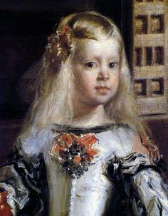 """Margarita Teresa """"Las Meninas"""", como se conoce el cuadro desde el siglo XIX, o la familia de Felipe IV según se describe en el inventario de 1734, se considera la obra maestra del pintor del siglo de oro español Diego Velázquez."""