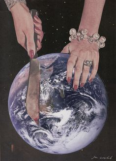 Meat - By Joe Webb #collage