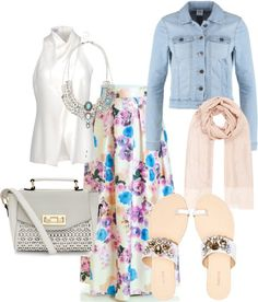 hijab spring outfit