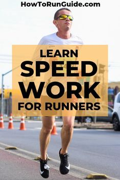 Every runner wants to get faster, whether you currently run a 13 minute mile or a 7 minute mile. Learn how to use these 4 types of speed work to increase your pace! Running Schedule, Running Routine, Interval Running, Running Training, Running Workouts, Pace Running, Beginner Running, Running Drills, Running Humor