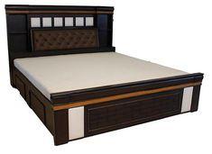 Bedroom Cupboard Designs, Wardrobe Design Bedroom, Room Design Bedroom, Bedroom Furniture Design, Bed Furniture, Furniture Makeover, Simple Bed Designs, Bed Designs With Storage, Double Bed Designs
