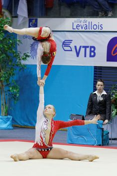 Photo 11 of Acrobatic gymnastics - Acro Acrobatic Gymnastics, Sport Gymnastics, Olympic Gymnastics, Olympic Badminton, Olympic Games Sports, Gymnastics Photography, Gymnastics Pictures, Gymnastics Problems, Jordyn Wieber