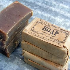love the packaging of the soap