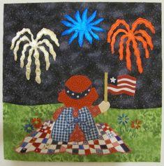 Patriotic Sue by Carolyn Hughey