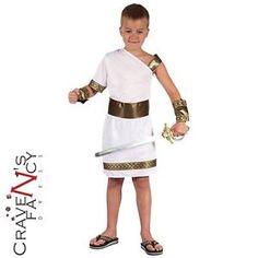 Kids-Boys-Roman-Greek-Gladiator-Caesar-Fancy-Dress-Costume-Childs-BOOK-DAY-WEEK