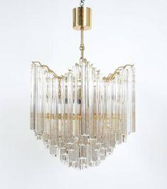 400 RARE VINTAGE ROSE Brass//Gold PLATEDChandelier Lamp Crystal Prism Connectors