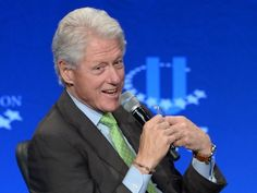 BILL CLINTON: MINING MAGNATE GIUSTRA CAN'T 'GET SOMETHING OUT OF IT' SINCE I'M NO LONGER PRESIDENT