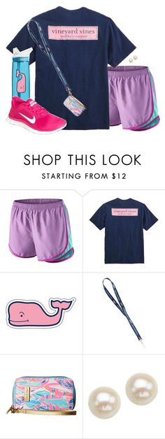 """Many colors"" by aweaver-2 on Polyvore featuring NIKE, Vineyard Vines, CamelBak, Lilly Pulitzer and Honora"