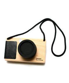 CHIGO PLAYTHINGS / Wood Toy Camera