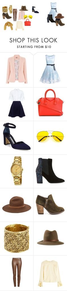 """Gold"" by jesica-d-psc on Polyvore featuring moda, Paul & Joe Sister, Givenchy, Manolo Blahnik, Gucci, Dune, rag & bone, Mas Artisan, Chanel y Joseph"