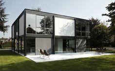 Zoersel House by Arjaan de Feyter