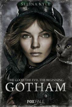 gotham_camren-bicondova-as-selena-kyle_catwoman. Camren Bicondova, Catwoman, Dc Comics, Live Action, Gotham Season 1, Selina Kyle Gotham, Le Joker Batman, Gotham Batman, Selena Kyle