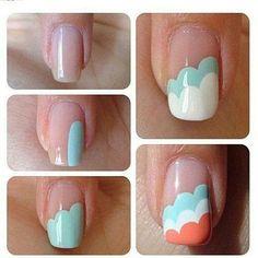 Nail beauty polish color