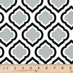 Quatrefoil Fabric made by Premier Prints Inc