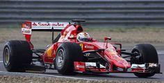 Sebastian Vettel 2016 - Testing New 2017 Tyres