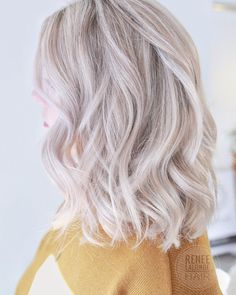 Trendfrisuren William, akkurater Mittelscheitel oder This particular language Trim Cease to live Frisurentrends 2020 Hair Color 2017, Hair Color And Cut, New Hair Colors, Cool Hair Color, Ice Blonde, Cool Blonde Hair, Platinum Blonde Hair, Color Ceniza, Medium Hair Styles