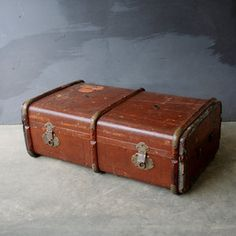 Cunard White Star Steamer Trunk, $146, now featured on Fab.