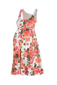 50f7963dc1147 Beachcoco Women's Maternity Knee Length Printed Tank Dress at Amazon Women's  Clothing store: Print Tank