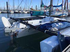 Essai du Trqeedo Travel 1003S sur le voilier Astus 16.5 Sport..