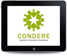 Diseño de logotipo para Condere, gestión de recursos humanos.