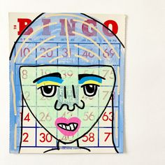 Bingo Card Art from Jennifer Perkins