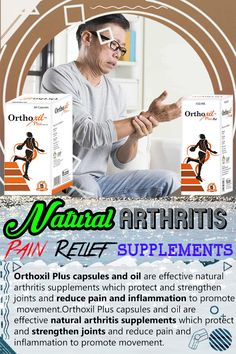 Natural arthritis pain relief supplements and massage oil are widely used by people worldwide to get relief from pain and inflammation to promote movement. Rheumatoid Arthritis Treatment, Knee Arthritis, Arthritis Pain Relief, Types Of Arthritis, Anti Inflammatory Herbs, Herbal Oil, Massage Oil, Reduce Inflammation, Alternative Medicine