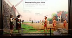 """The American Museum of Natural History corrects a Native American story in full view of visitors, inviting them to """"reconsider this scene. Miss Images, Barrow Street, Poetry Day, Indigenous Tribes, American Story, New Amsterdam, Ghost Tour, American Revolution"""