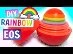 Rainbow EOS | DIY EOS Lip Balm - YouTube