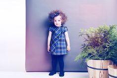 Fina Ejerique girl dress fall winter 14 15 | vestido niña otoño invierno 14 15   #modainfantil #childrensfashion #ropadeniños #kidswear