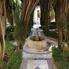 #InstagramELE  Me encanta el #diseño de los jardines en Granada especialmente las fuentes. #SP101F16 Foto de @obdulioj