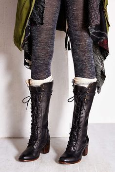 FREEBIRD By Steven Grany Lace-Up Tall Boot