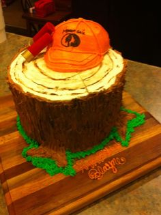Duck Hunting Birthday Cake Party Ideas Pinterest