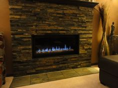 Patinated Steel Fireplace   Beveled Surround | Fireplace | Pinterest |  Wahlen, Metall Und Material