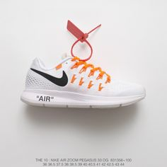 8430788ada97 Mens Fsr Creative Off-White Mainist Virgil Abloh X Nike Air Zoom Pegasus 3  Lunarepic 3 Lightweight And Breathable Jogging Shoes