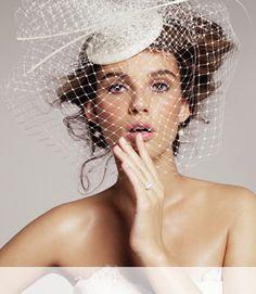 Fascinator veil? You choose! #Nordstrom #Weddings