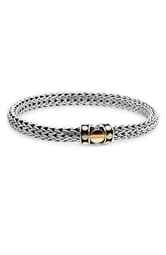 John Hardy 'Dot Gold & Silver' Chain Bracelet available at #Nordstrom
