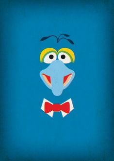 Nursery Decor Gonzo Muppet Prints Digital Download by TheRetroInc