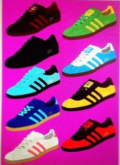 Adidas Trimm Star poster