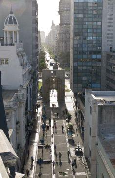 """""""Puerta de la Ciudadela"""" view, Montevideo - Uruguay"""