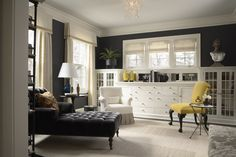 contemporary living room by Mary Hickey Interiors