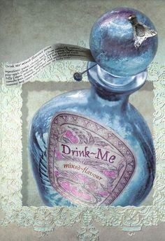 Ryan Durney | Alice in Wonderland | Drink -Me