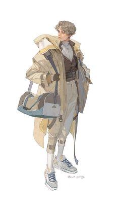 밤양갱(@ovo_yang) / 트위터 Fantasy Character Design, Character Design Inspiration, Character Art, Animation Character, Character Sketches, Art And Illustration, Character Illustration, Art Illustrations, Anime Kunst