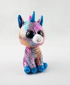 "6"" TY Beanie Boos New Glitter Eyes Unicorn Girl Gift No Tag Plush Stuffed Toys Ty Stuffed Animals, Stuffed Toys, Ty Beanie Boos, Beanie Babies, Ty Peluche, Zuma Paw Patrol, Ty Toys, Baby Alive Dolls, Siena"