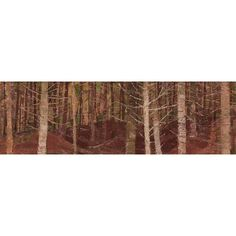 Alan Collier - Tangled Woods 8 x 24 Oil on board Wood 8, Tangled, Oil, Board, Rapunzel, Planks, Butter