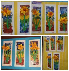 Image result for daffodil collage