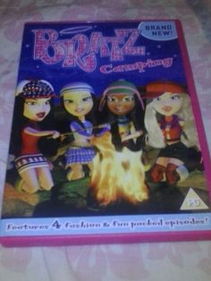 Bratz Camping  Includes 4 Adventures of The Bratz Trading Faces, Camping, Skeletons In The Closet, & Jade's Dream 23th DVD 2013