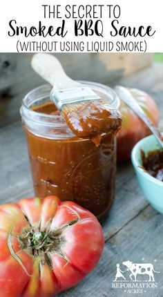 The Secret to Smoked BBQ Sauce (Without Using Liquid Smoke)